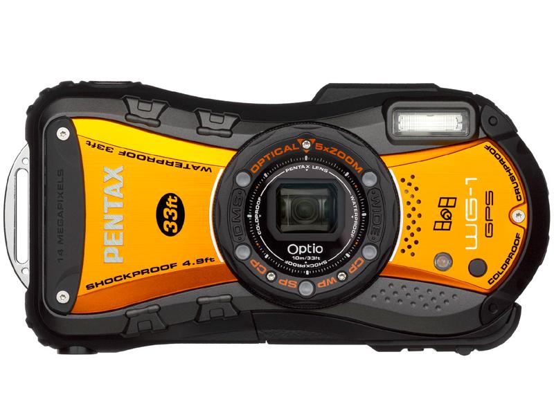 <b>Optio WG-1 GPS(シャイニーオレンジ)</b>