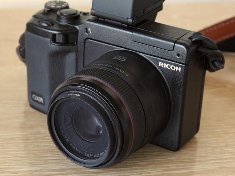 <b>ケンコー「40.5mm PRO ND2」装着例</b>