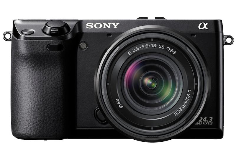 <b>E 18-55mm F3.5-5.6 OSS(NEX-7レンズキット専用色)装着例</b>