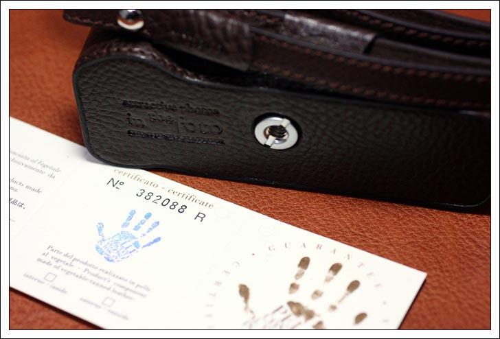<b>the Fotoイタリアンレザー製カメラボディケース(ブラウン)</b>