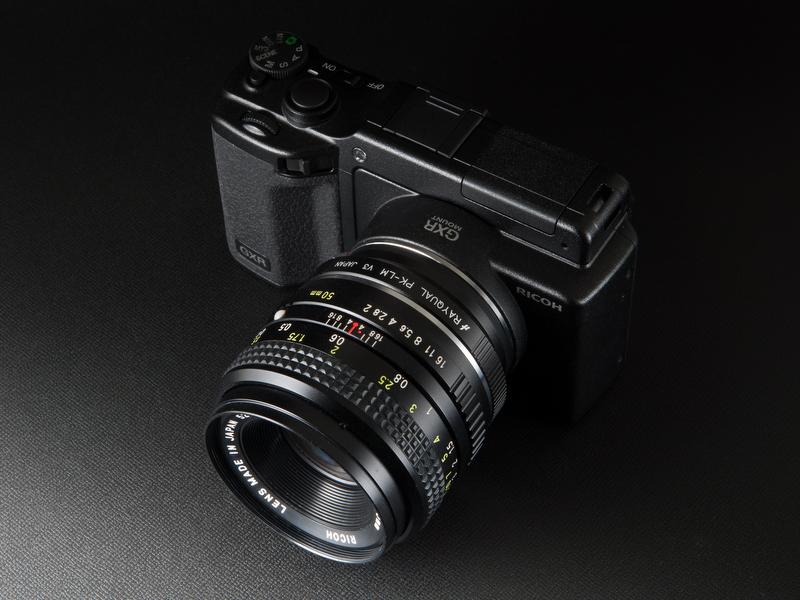 <b>XR Rikenon 50mm F2</b>