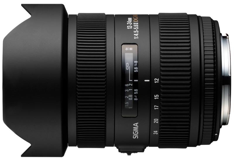 <b>12-24mm F4.5-5.6 II DG HSM。価格は9万9,750円</b>