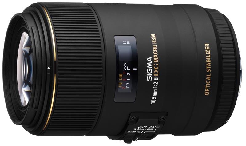 <b>MACRO 105mm F2.8 EX DG OS HSM。シグマ用は26日発売。価格は11万7,600円</b>