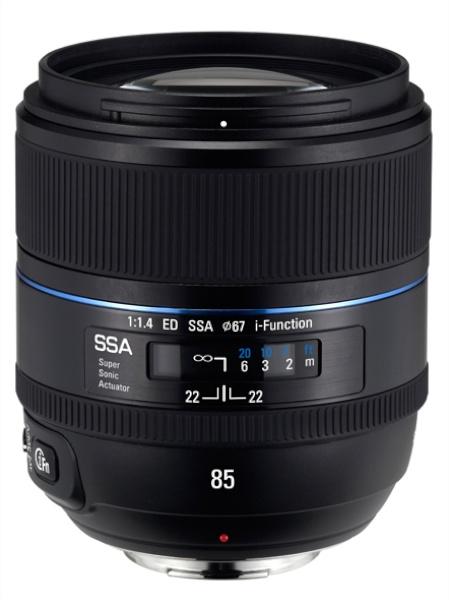 <b>SAMSUNG 85mm F1.4 ED SSA</b>