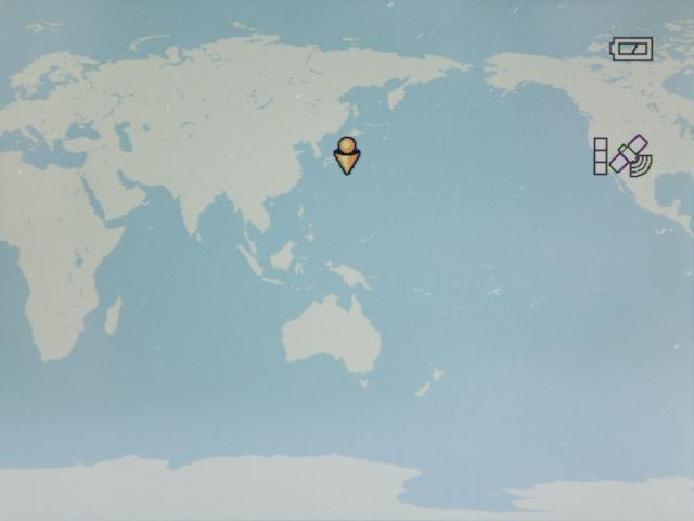 <b>地図表示の例。徐々にスケールを細かくして見た</b>