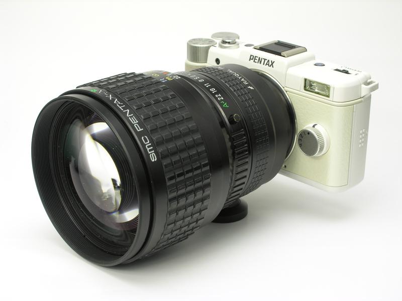 <b>SMCペンタックスAスター85mm F1.4</b>