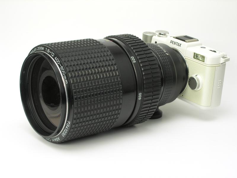 <b>SMCペンタックスレフレックスズーム400-600mm F8-12</b>
