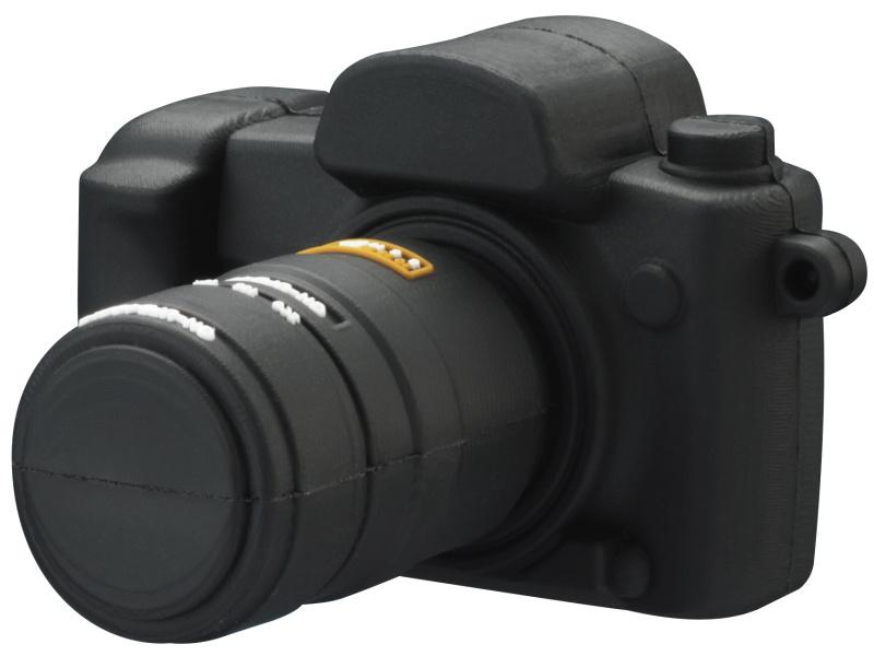 <b>一眼レフカメラ形USBフラッシュメモリ(GH-UFD4GSLR )</b>