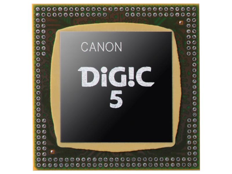 <b>DIGIC 5</b>