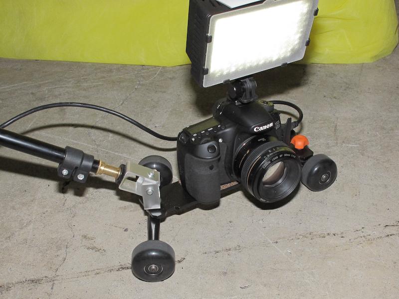 <b>カメラの搭載例</b>