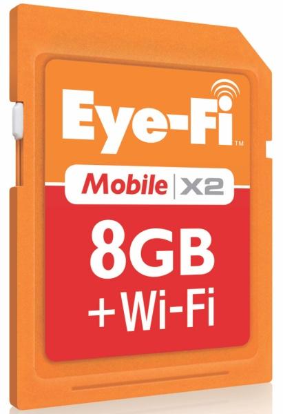 <b>Eye-Fi mobile X2</b>