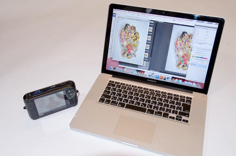 <b>エプソンのフォトスレージとMacBook Pro 15インチ</b>