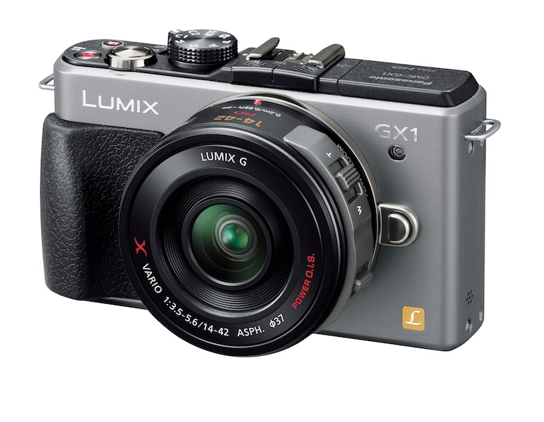 <b>グランプリの賞品「LUMIX DMC-GX1」</b>