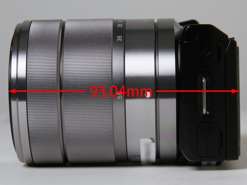 <b>NEX-5N+「E 18-55mm F3.5-5.6 OSS」</b>
