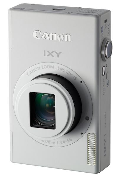 <b>IXY 1(ホワイト)。無線LAN機能を内蔵したタッチパネル機。直販価格は3万9,980円</b>