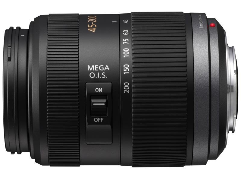 <b>LUMIX G VARIO 45-200mm F4-5.6 MEGA O.I.S.(H-FS045200)</b>