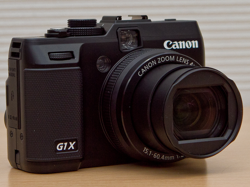 <b>PowerShot G1 Xは35mm判換算で28-112mm相当 F2.8-5.8の4倍ズームを採用</b>