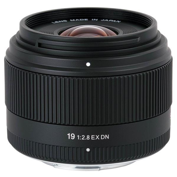 <b>SIGMA 19mm F2.8 EX DN</b>