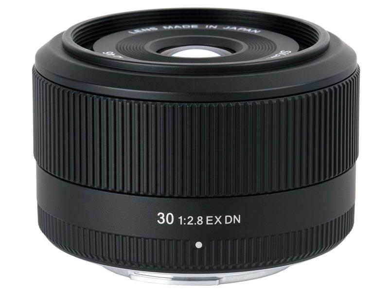 <b>SIGMA 30mm F2.8 EX DN</b>