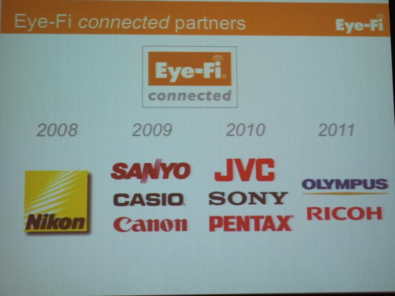 <b>Eye-Fiのパートナーを紹介</b>