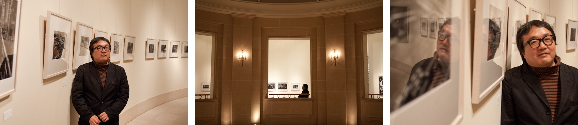 <b>2010年、所幸則写真展「PARADOX」GALLERY 21にて</b>