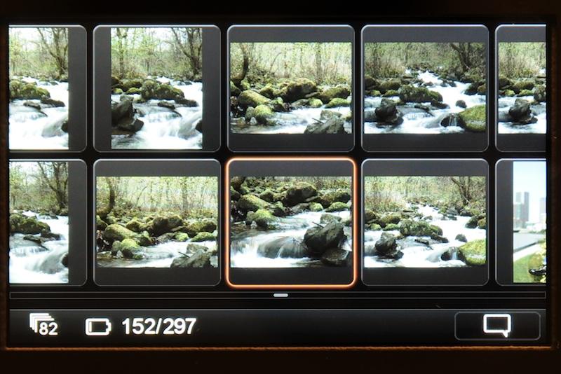 <b>再生画像は非常に高精細。屋外での視認性も良く、スタジオ以外での利用価値は高い</b>