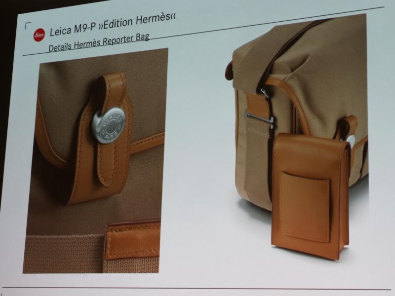 <b>パリで手作りされたリポーターバッグが付属</b>