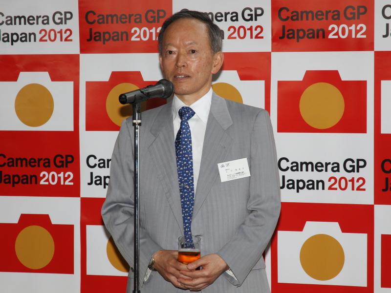 <b>カメラ映像機器工業会 事務局長の小川眞佐志氏</b>