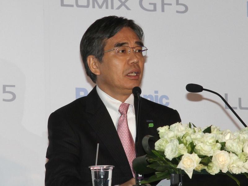 <b>Panasonic Taiwan総経理の中谷明弘氏</b>