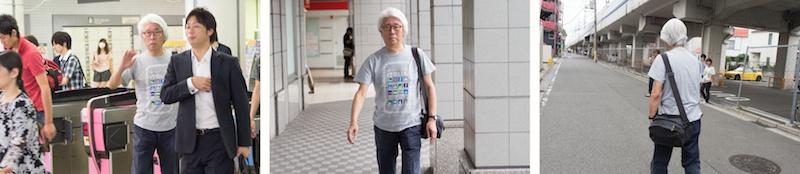 <b>田村さんは出身校でもある、古巣の東京綜合写真専門学校で学生たちの授業を受け持っている。名前には東京が付いているけど、なぜか日吉にある、写真界では通称「ヒヨシの学校」と呼ばれている、戦後日本の写真界に貢献した重森弘淹さんが作った学校で、昔から数々の有名写真作家やカメラマンを輩出してきた。生徒が入れ替わって、昼夜2部を教える日もある。この日は午後からの授業を田村さんが電車の改札を出てくるところから待ち構えて同行させてもらった。授業風景を取材していると、学校の広報用に逆取材を受けてしまいました(笑)</b>