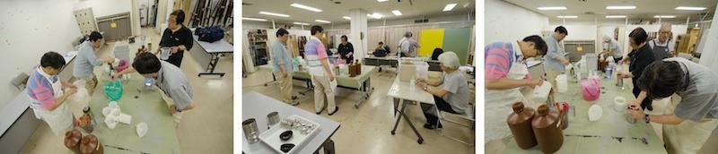 <b>セブン&amp;アイ・ホールディングスの主催する池袋コミュニティカレッジで、田村さんは東京銀塩写真クラブという名前のコースを持っている。銀塩フィルムによる撮影から現像、プリントを楽しもうというコースで、大人の皆さんの集まりだ。撮影実習会、現像風景など、何日にもわたって取材させていただいてるうちに、ボクも久しぶりに暗室作業の懐かしさが沸いてきた。流石、大人の趣味世界は深い(笑)</b>