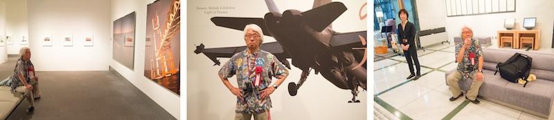 <b>写真展初日の内覧会では学芸員の方と田村さんが直接作品についての説明をしていき、参加者からの質問に答えるという場面も。</b>