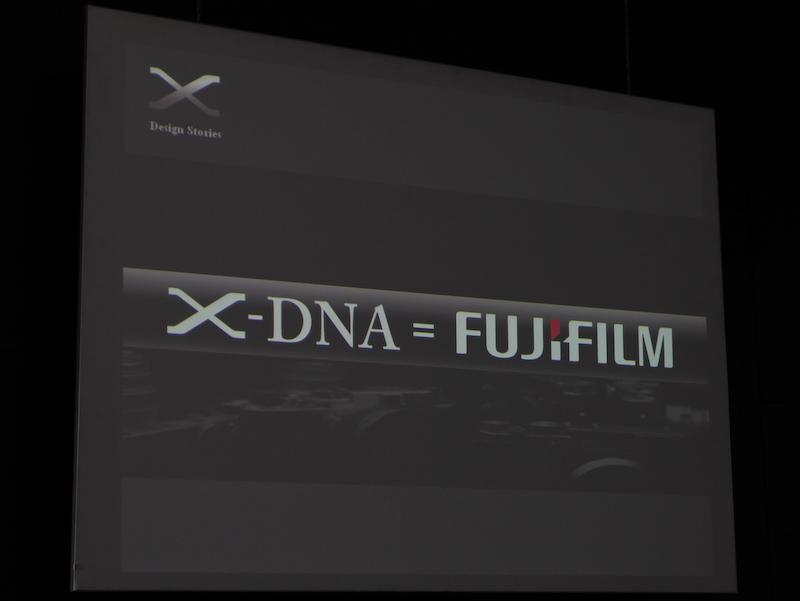 <b>X-DNAは、富士フイルムそのものだとする</b>
