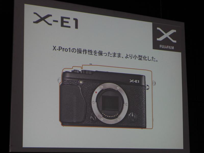 <b>FUJIFILM X-Pro1から小型化を図った</b>