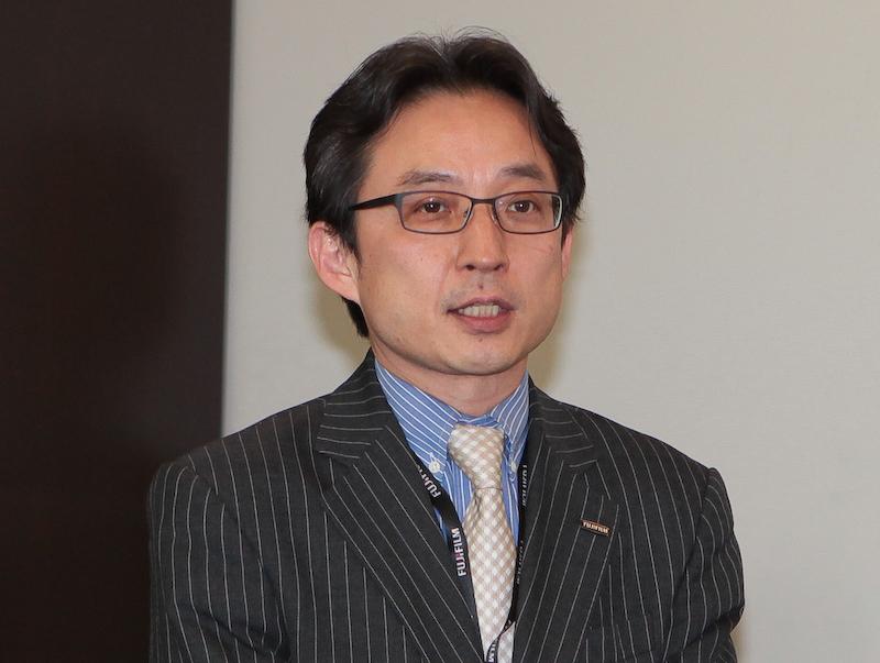 <b>富士フイルムヨーロッパ副社長の山口豊氏</b>