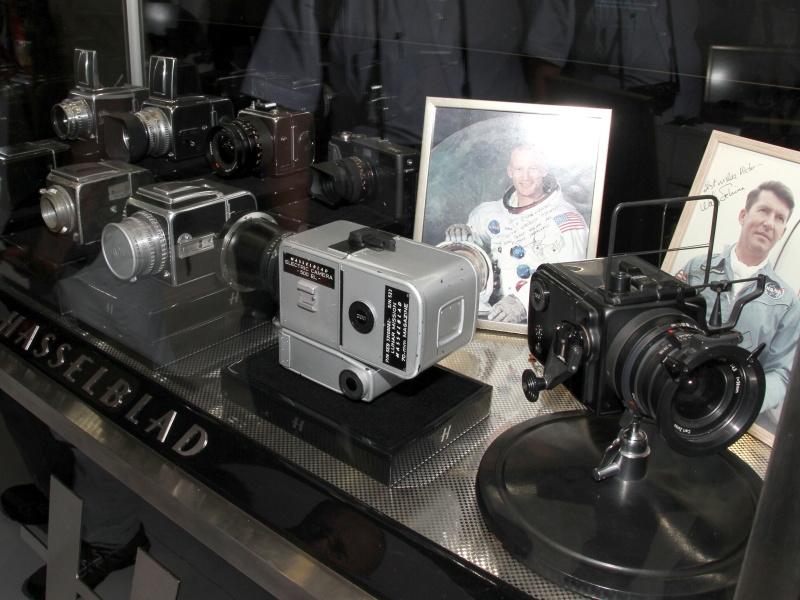 <b>スペースカメラの展示</b>