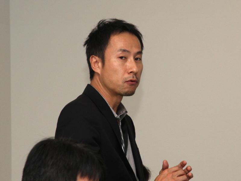 <b>Sony Europe Personal Imaging &amp; Sound Europe General Managerの安田孝司氏</b>