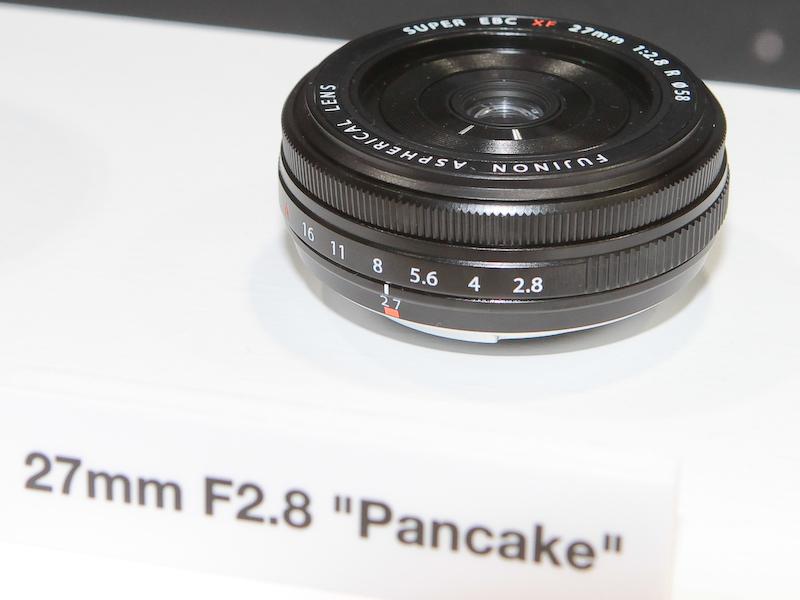 """<b>XF 27mm F2.8 """"Pancake""""</b>"""