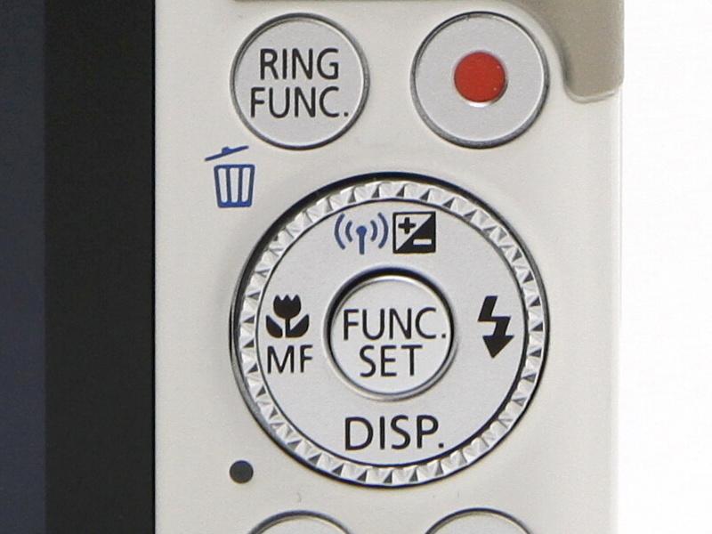 <b>方向キーの上ボタンで無線LAN機能を呼び出す</b>
