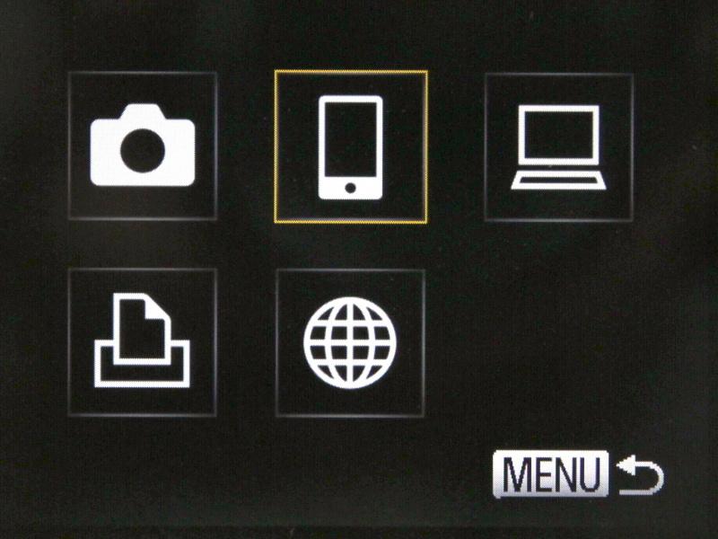 <b>転送先の機器にスマートフォンを選択する</b>