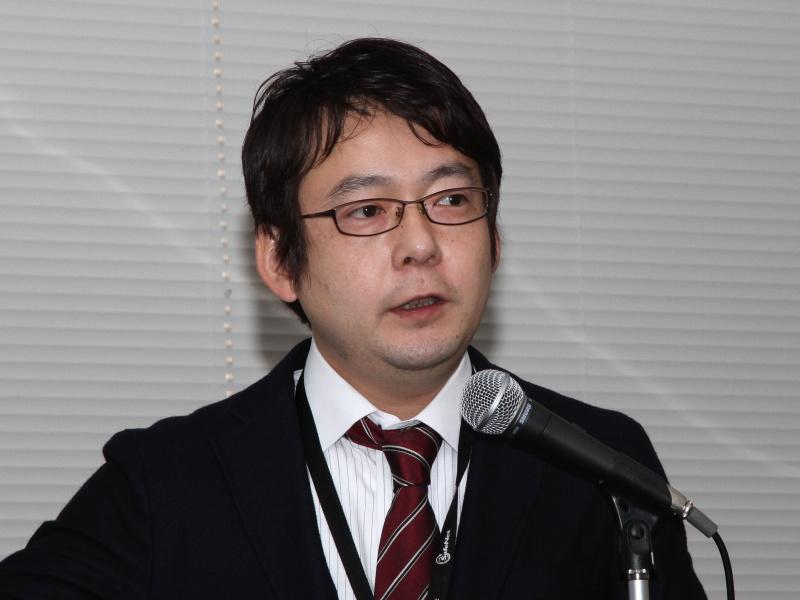 <b>バッファロー グローバルプロダクトマーケティング部 次長の富山強氏</b>