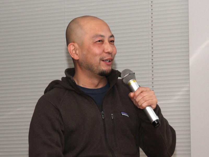 <b>写真家の三井公一氏</b>