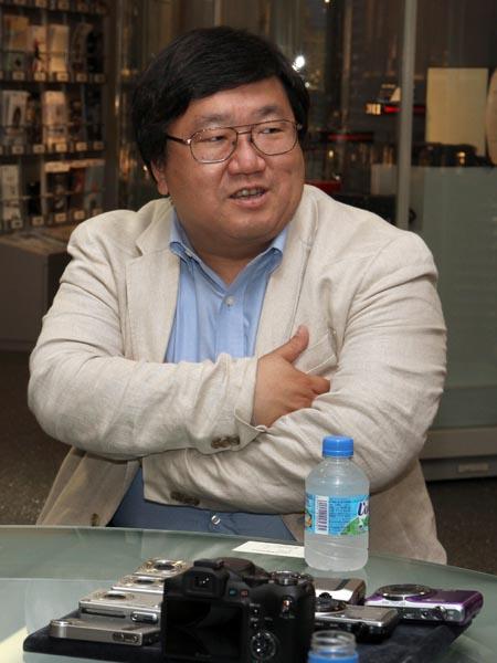 <b>写真家の山田久美夫氏</b>