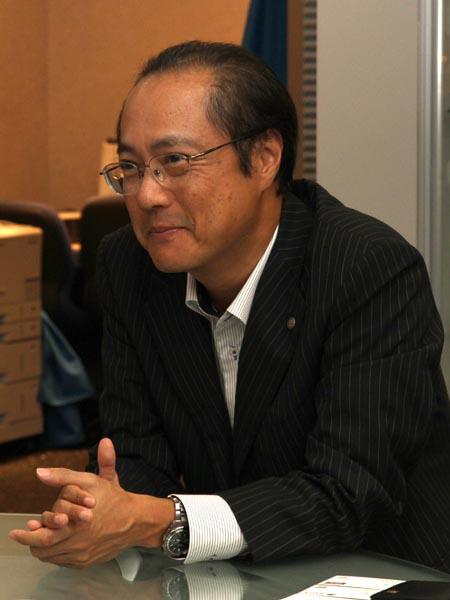 <b>QV事業部長の中山仁氏(カシオ計算機株式会社 執行役員)</b>