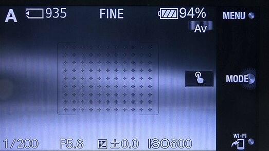 <b>デフォルトでは、下部のソフトキーBが「Wi-Fi」(スマートフォン転送)に割り当てられている</b>
