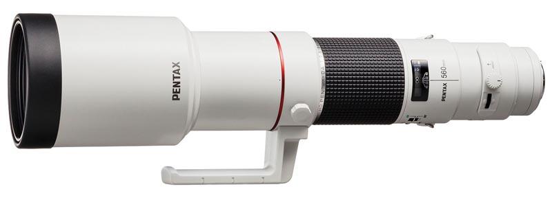 <b>HD PENTAX-DA 560mm F5.6 ED AW</b>
