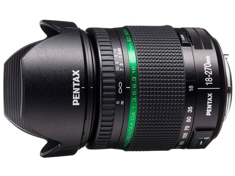 <b>smc PENTAX-DA 18-270mm F3.5-6.3 ED SDM</b>