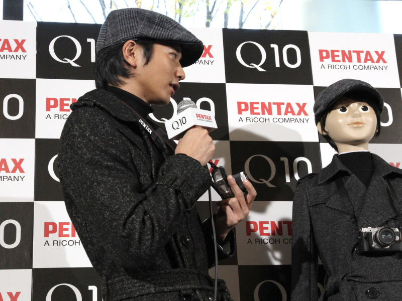 PENTAX Q10の印象を語った