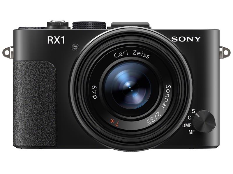 ソニー サイバーショットDSC-RX1。「35mm判フルサイズ撮像素子に35mmF2単焦点レンズを採用したコンパクトデジタルカメラ」