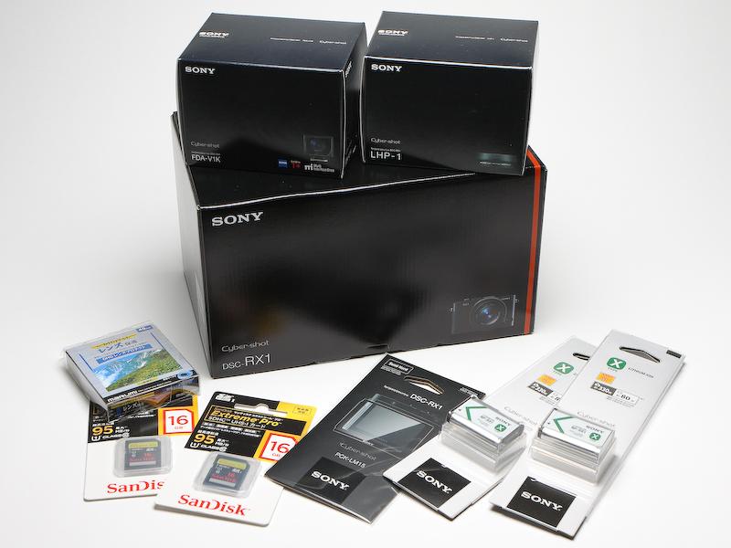 DSC-RX1は仕事用のカメラではないので、この値段は個人的には正直あり得ない。それでも物欲を抑えられず、上の写真一式を購入してしまったのだが、そこまでさせてしまう魅力のあるカメラだといえる。